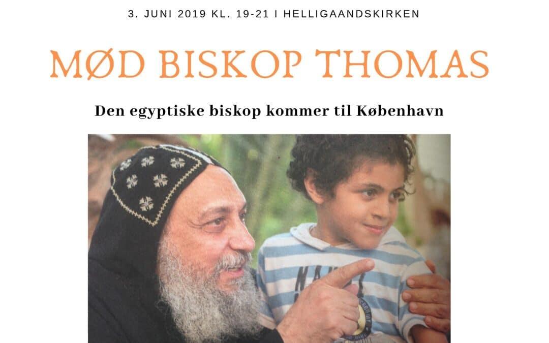 Biskop Thomas kommer til København